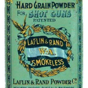Laflin & Rand Gunpowder Tin