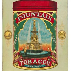 Fountain Tobacco Sign