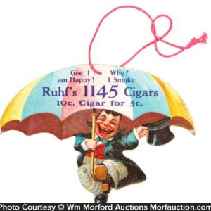 Ruhf's 1145 Cigars Sign