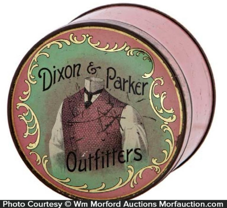Dixon & Parker Outfitters Tin