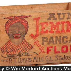 Aunt Jemima's Pancake Flour Crate