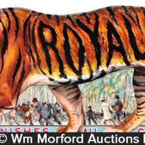 Royal Tailors Tiger Sign