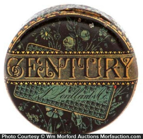 Century Tobacco Tin