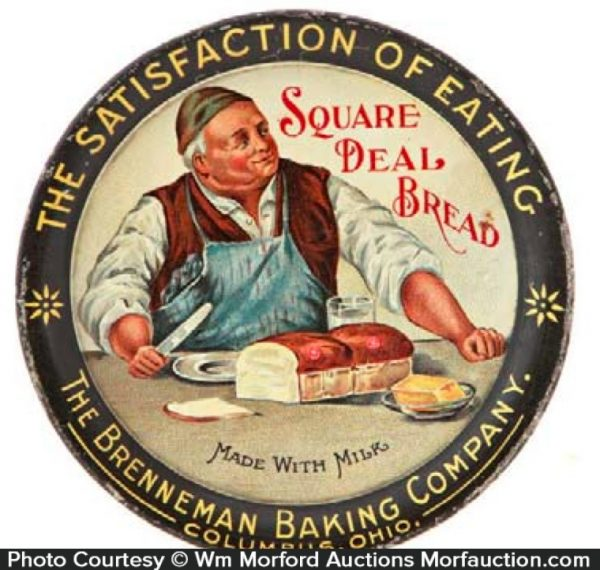 Square Deal Bread Tip Tray