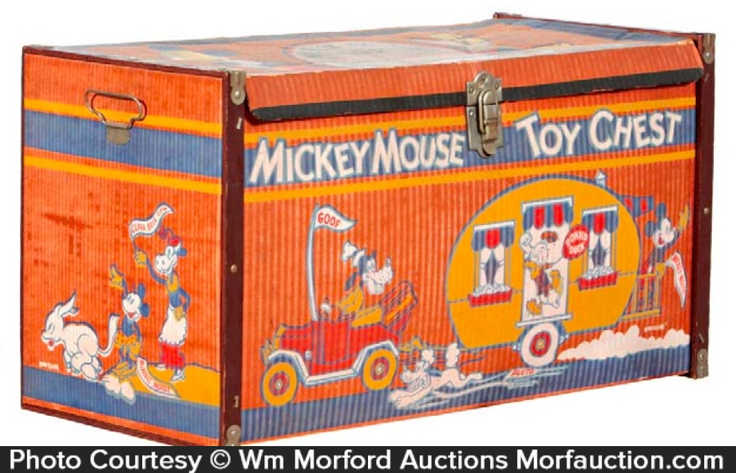 Mickey Mouse Toy Chest