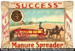 Success Manure Spreader Tray