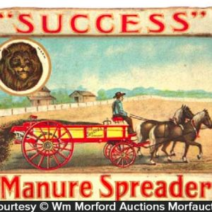 Success Manure Spreader Tray