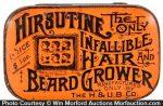 Hirsutine Hair and Beard Grower Tin