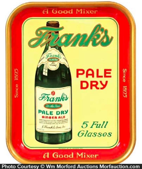 Frank's Ginger Ale Tray