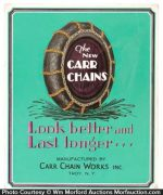 Carr Tire Chains Sign