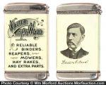 Walter Wood Match Safe