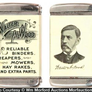 Walter Wood Match Safe
