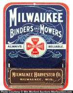 Milwaukee Harvester Match Holder