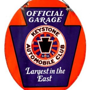 Keystone Automobile Club Sign