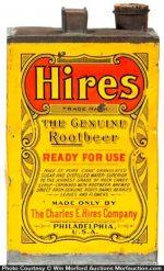Hires Root Beer Tin