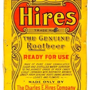 Hires Root Beer Tin