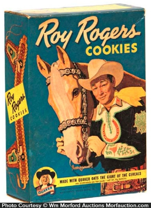 Roy Rogers Cookies Box