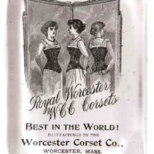 Worcester Corsets Paperweight
