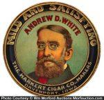 andrew White Cigar Tray