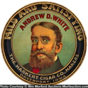 andrew White Cigar Tray