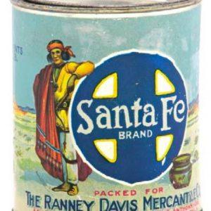 Santa Fe Peanut Butter Tin