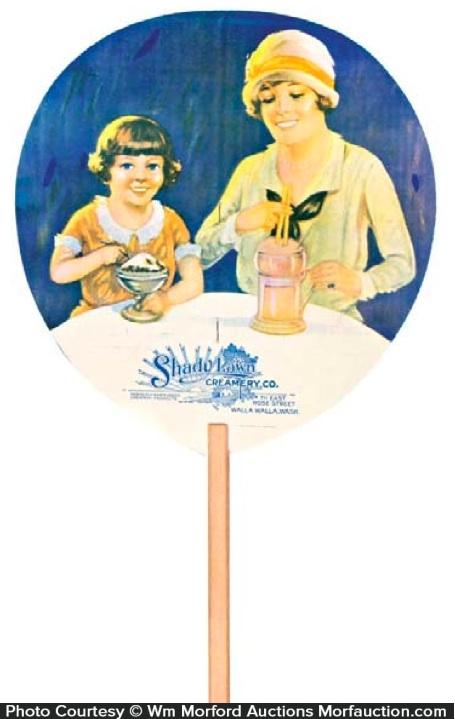 Shady Lawn Creamery Fan