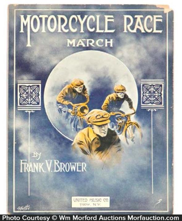 Motorcycle Race Sheet Music