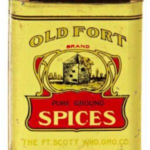 Old Fort Spice Tin