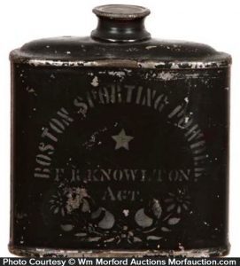 Boston Sporting Powder Tin