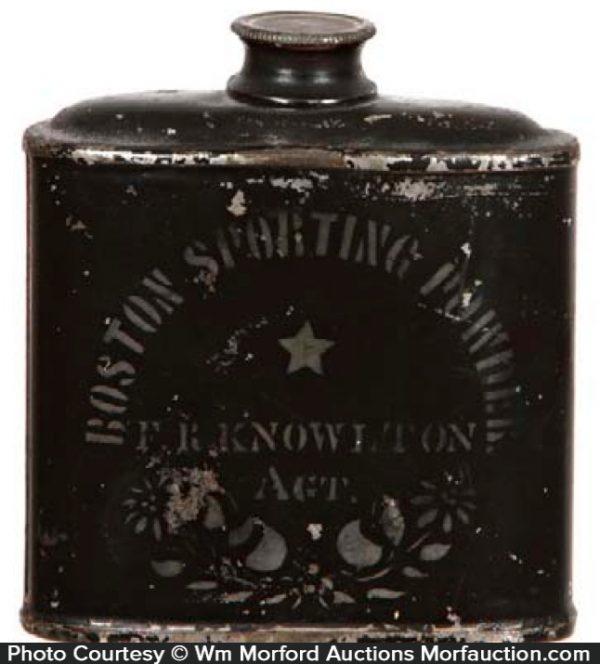 Boston Sporting Powder Tin