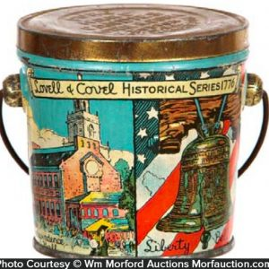 Lovell & Covel Candy Pail