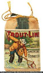 Trout-Line Tobacco Pouch