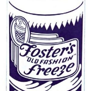 Foster's Free Ice Cream Sign