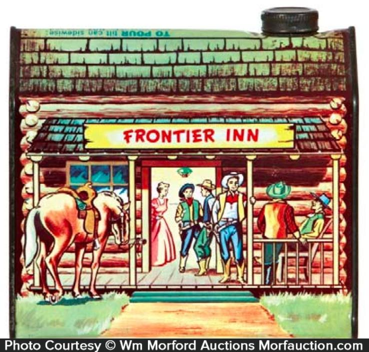 Frontier Inn Syrup Tin