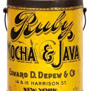 Ruby Coffee Pail