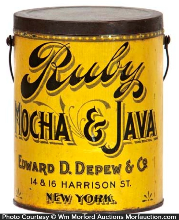 Ruby Coffee Pail