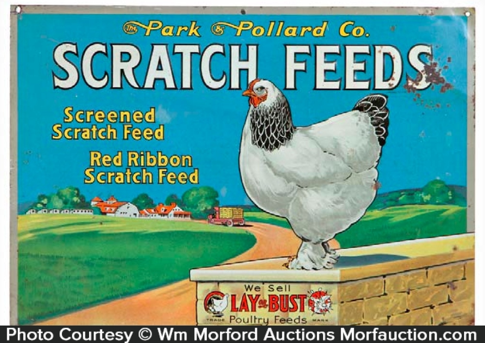 Scratch Feeds Sign