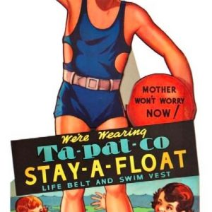 Stay A Float Window Sign