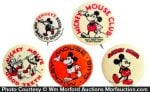 Mickey Mouse Pins