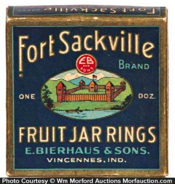 Fort Sackville Jar Rings Box