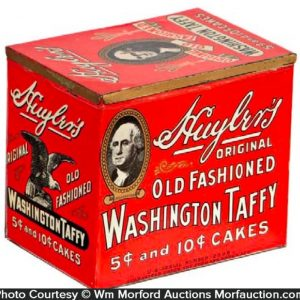 Huyler's Washington Taffy Tin