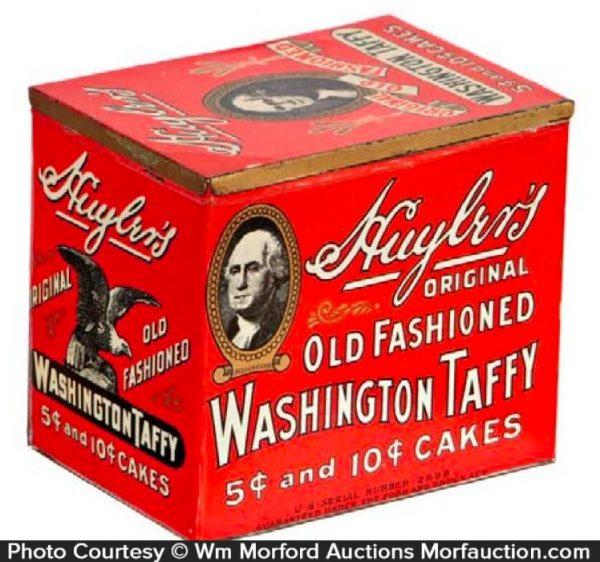Huyler's Washington Taffy Tin