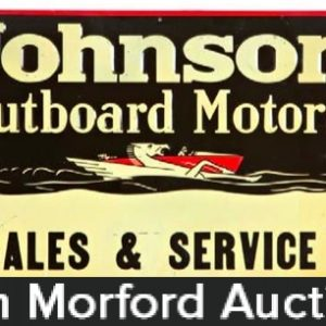 Vintage Outboard Motor Signs