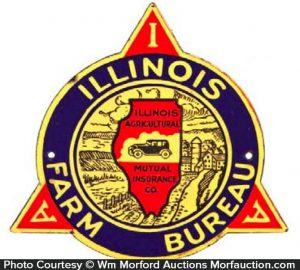Illinois Farm Bureau Sign