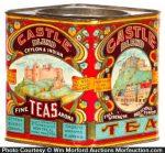 Castle Tea Tin