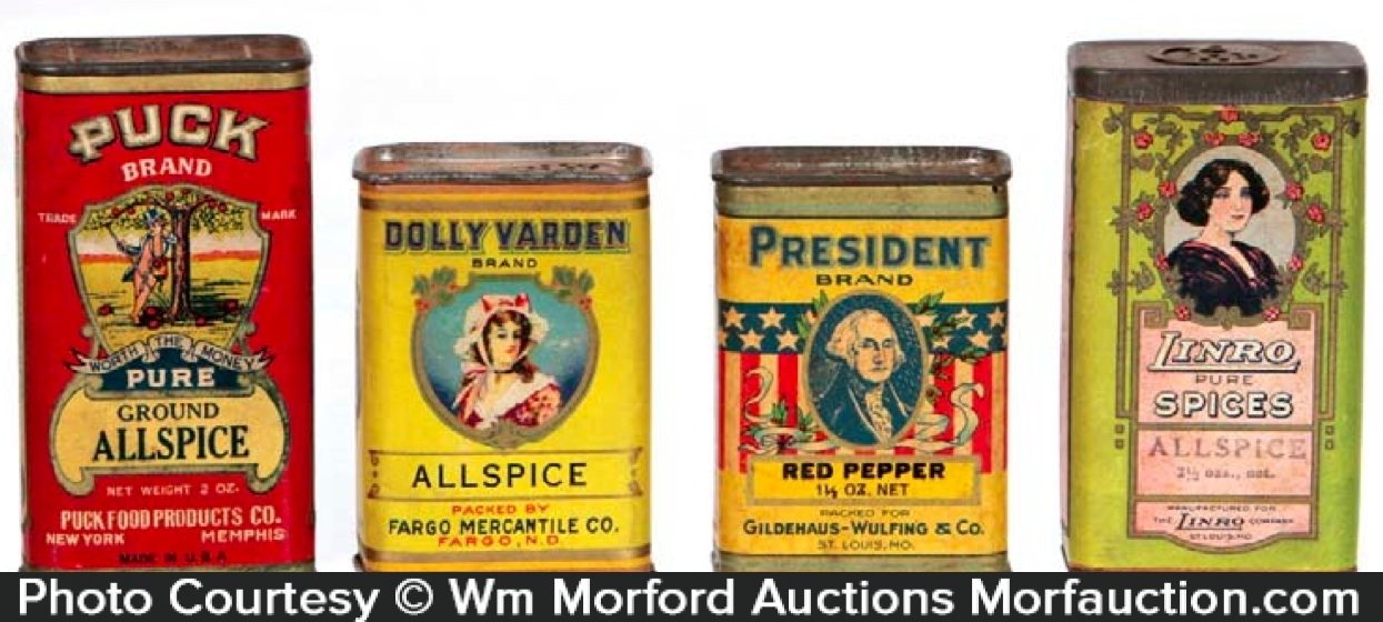 Spice Tin Antiques