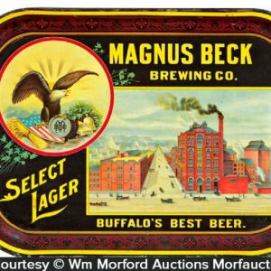 Magnus Beck Brewing Beer Tray
