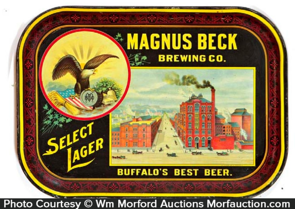 Magnus Beck Brewing Beer Tray