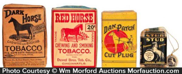 Horse Tobacco Packs