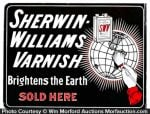 Sherwin Williams Varnish Sign